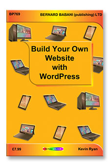 Build your own websites with WordPress
